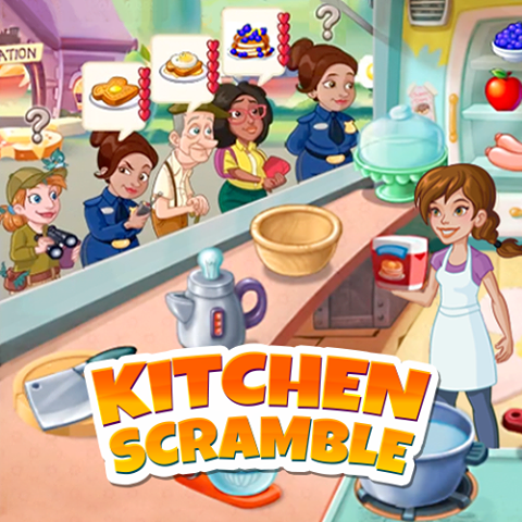 Play Kitchen Scramble Online free Without Facebook