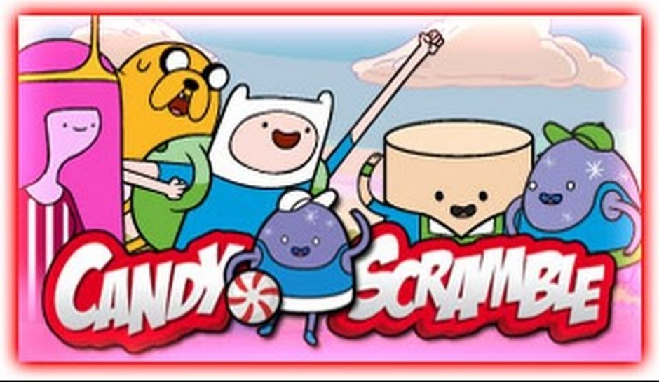 Adventure Time Candy Scramble